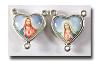 Sacred and Immaculate Hearts - Colour/A.silver - 215