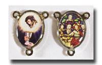 Blessed Sacrament and Last Supper - Colour/silver-tone - 276n