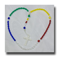 5 Colour Nations Rosary