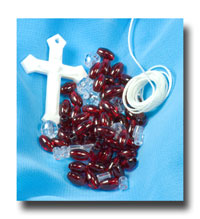 School Kits - 9mm string and spacer rosaries - Sch8