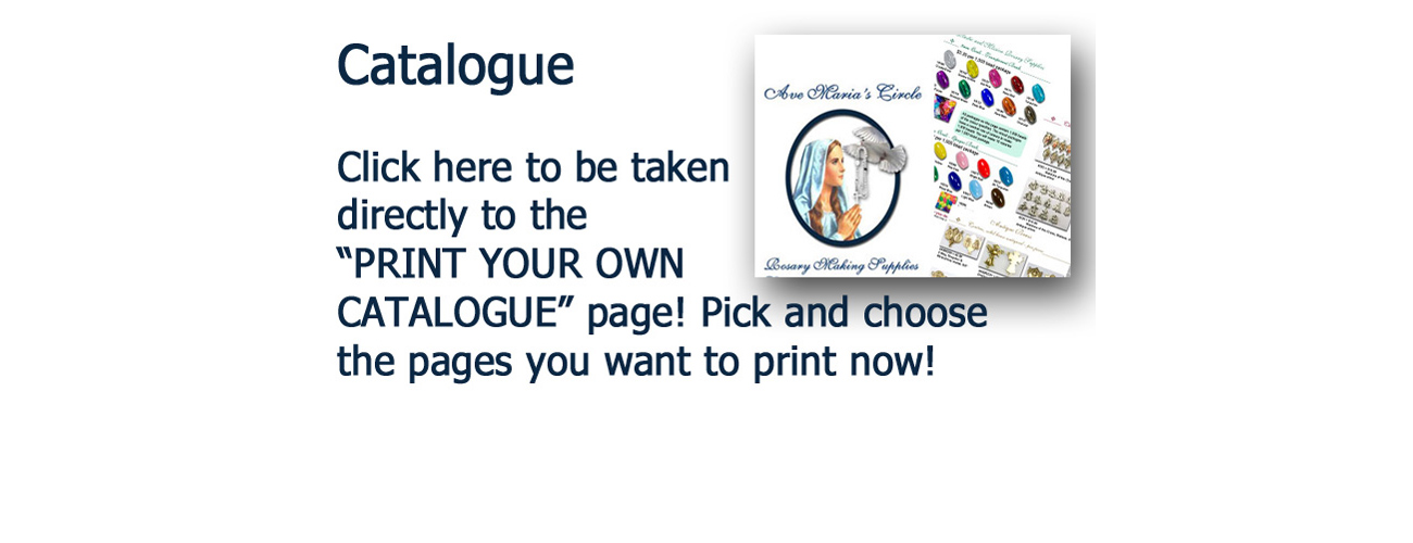 Print your own catalogue pages now!