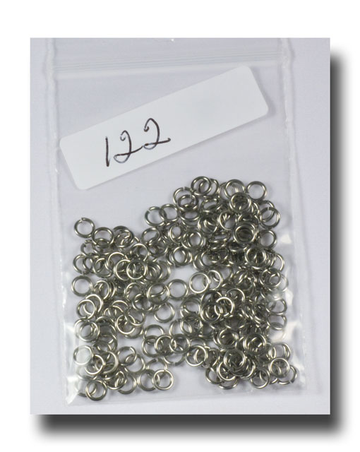 Jump Rings - Small - Stainless steel - 122 - Click Image to Close