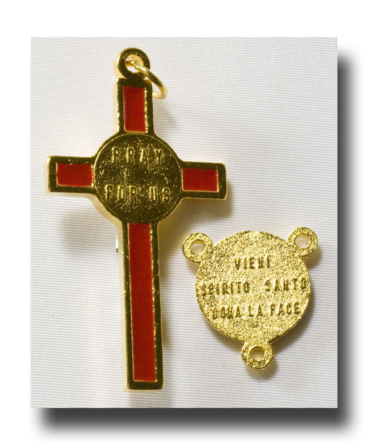 Holy Ghost Confirmation set - Gilt (gold-tone) - 205 - Click Image to Close