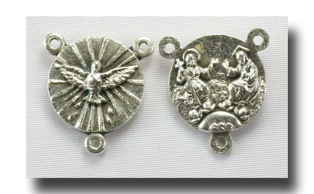 Holy Ghost and Holy Trinity - Antique silver - 216 - Click Image to Close