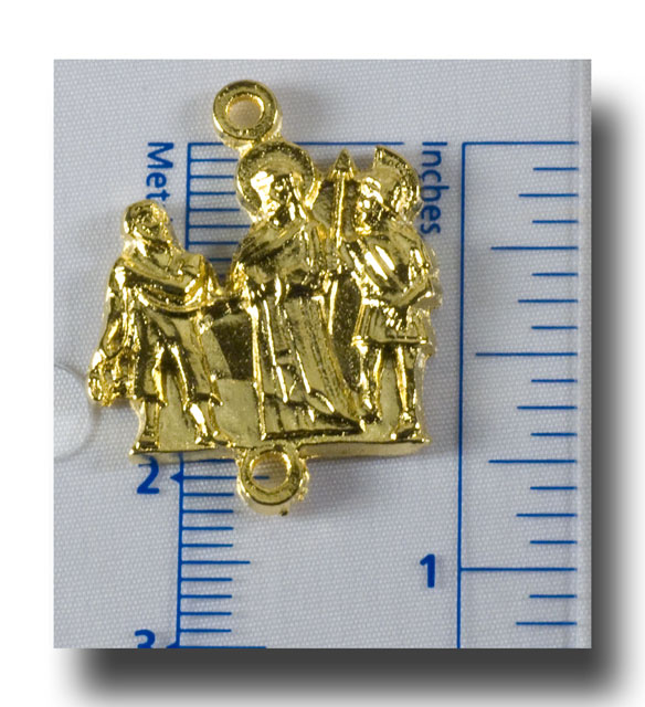 Stations of the Cross set, Statues, Gilt (gold-tone) - 257 - Click Image to Close
