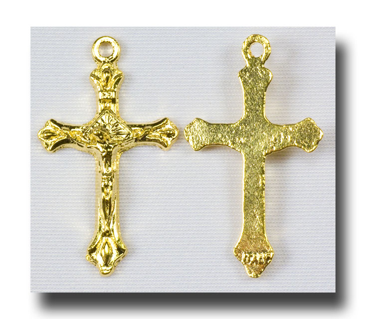 Traditional (tiny) - Gilt (gold-tone) - 323 - Click Image to Close
