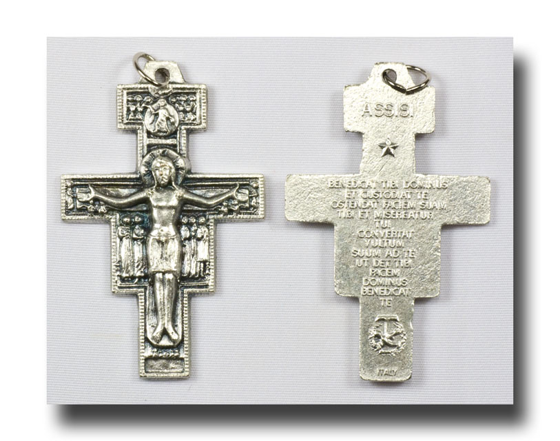 San Damiano - Antique silver - 343 - Click Image to Close