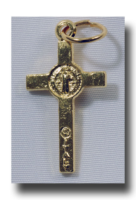 St. Benedict, Jubilee - Gilt (gold-tone) - 378 - Click Image to Close